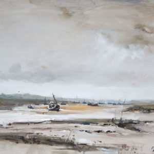 'Low tide, Brancaster Staithe', Norfolk