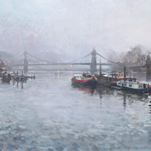 Towards Hammersmith Bridge, Early Morning, March