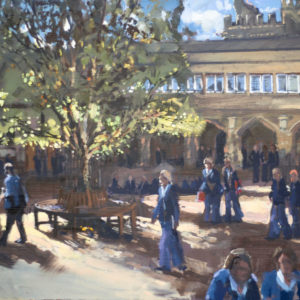 Cloisters At Break
