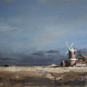 'September Sun, Cley Windmill', Norfolk