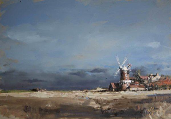 'September Sun, Cley Windmill', Norfolk
