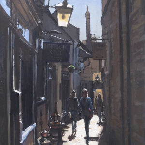 The Lane, Stamford, Giclee Print 1/100