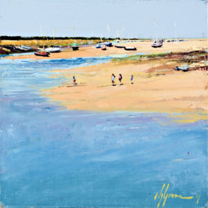 'Wells Marina in June', Norfolk