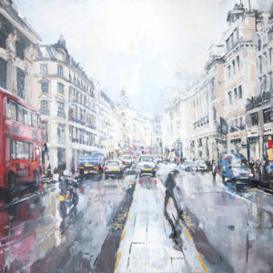 Regent Street, Hamleys, And Buses