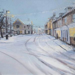 Snow in Oundle, Giclee Print, 1/100