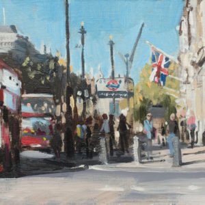 Parliament St, London, October, Giclee Print 1/100