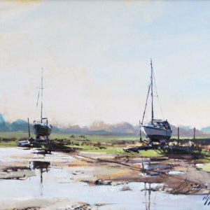 'High & Dry, Morston Quay', Norfolk