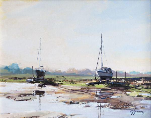 'High & Dry, Morston Quay', Norfolk