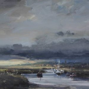 'First light, Morston Quay', Norfolk
