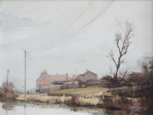 'Misty morning in Salthouse', Norfolk