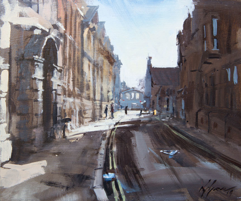 Early Morning, Pembroke St, Cambridge