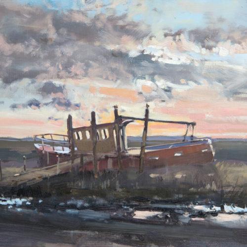 Sunset At Thornham