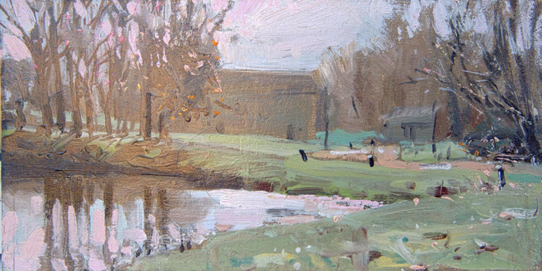 Barnwell Mill Bright Morning