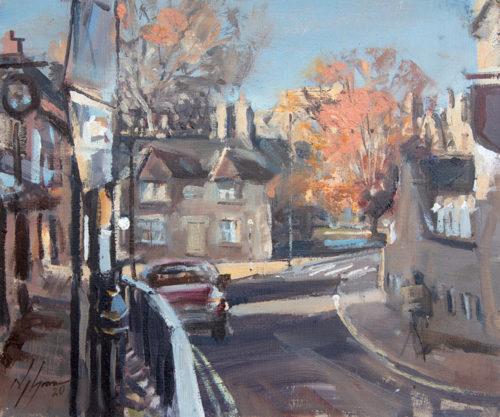 Castle Street, Autumn, Stamford