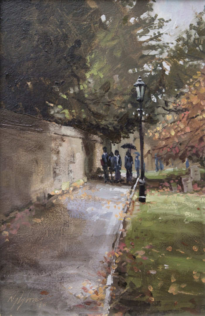 To St Peters, Oundle, Giclee Print, 1/100