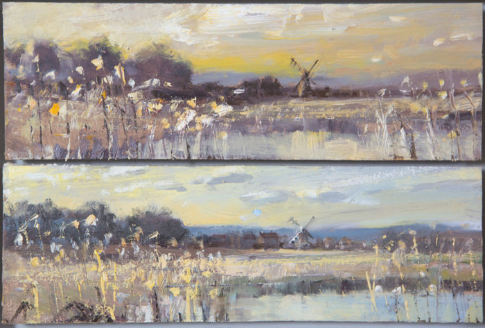 Towards Cley Diptych