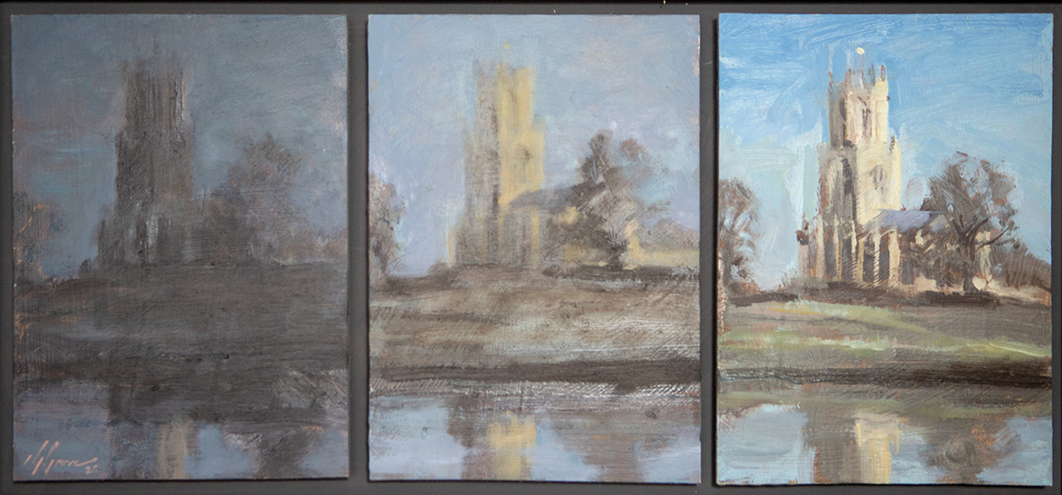 Fotheringhay Church Triptych