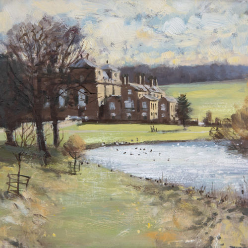 Holkham Hall, Frame