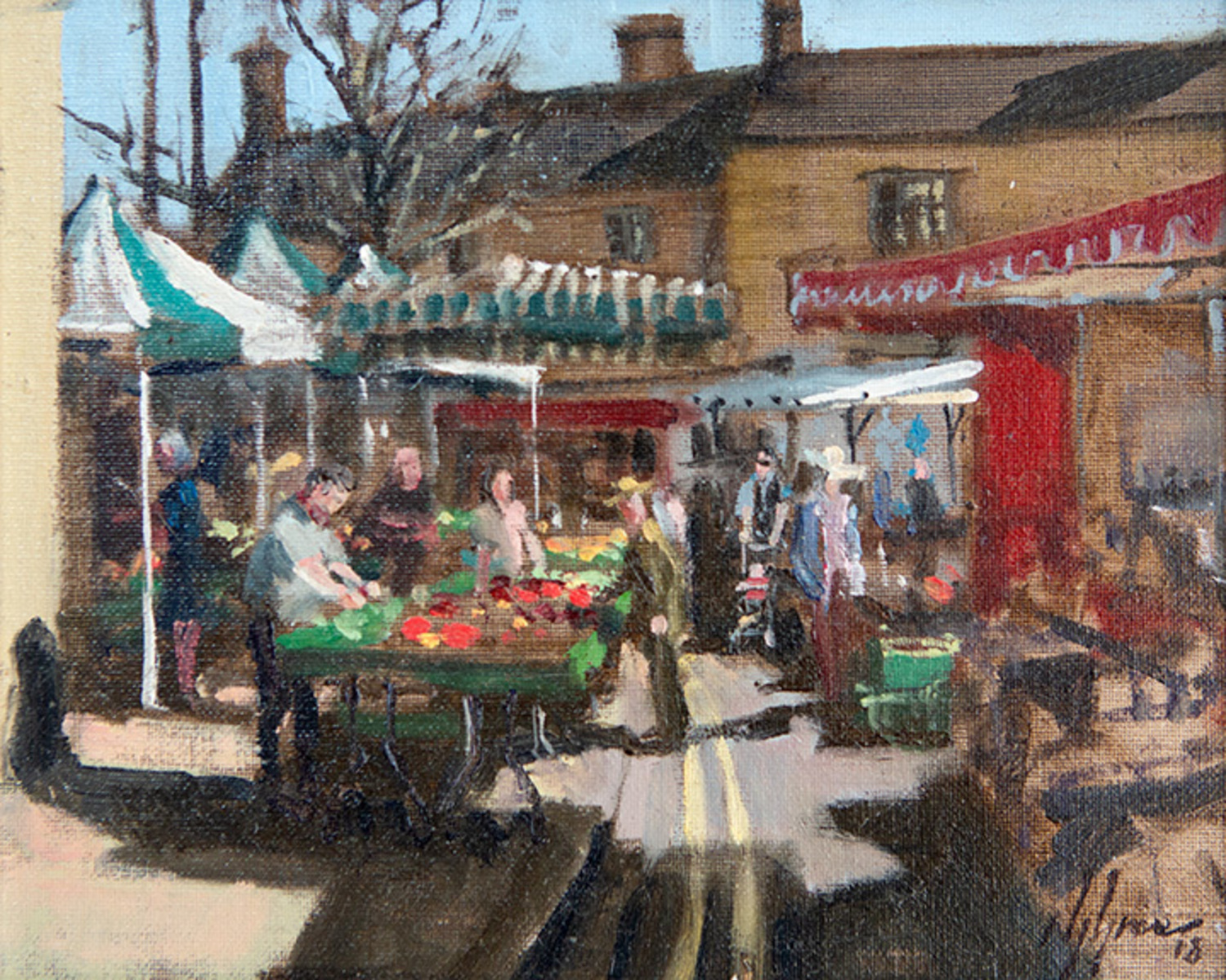Market Day, Oundle
