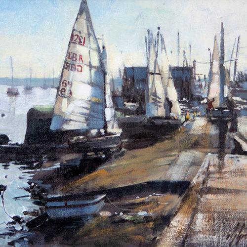 Preparing the Dinghies, Wells-next-the-Sea
