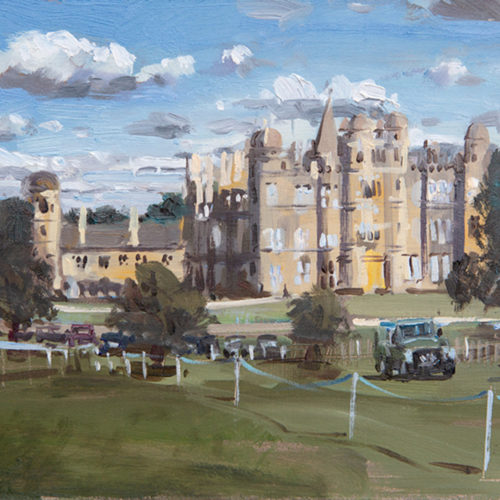 The House at Burghley Horse Trials