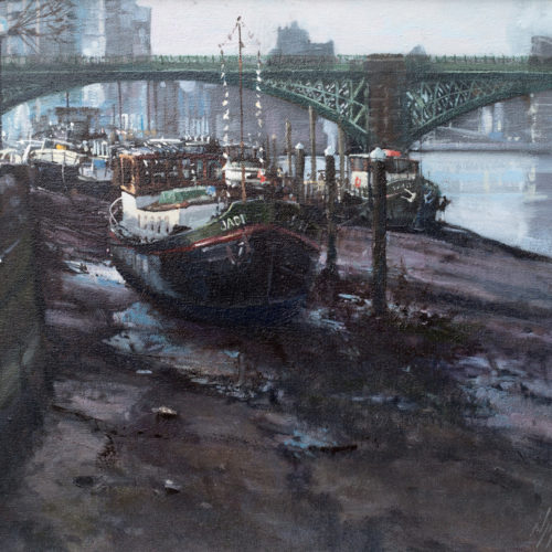 Barges At Battersea