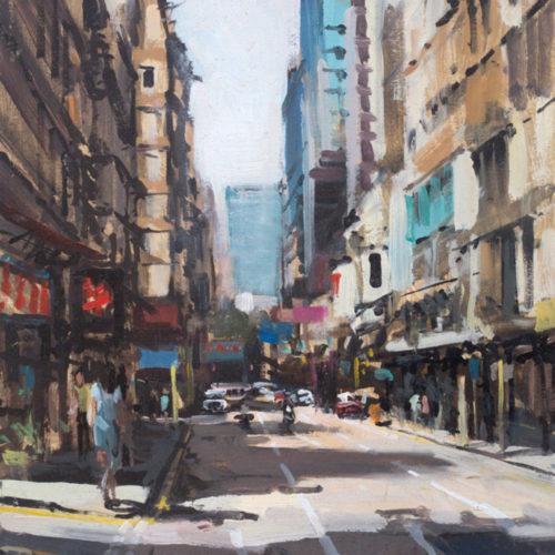 Down Cameron Road, Tsim Sha Tsui, Hong Kong