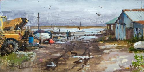 Fishermans Yard, Brancaster Staithe