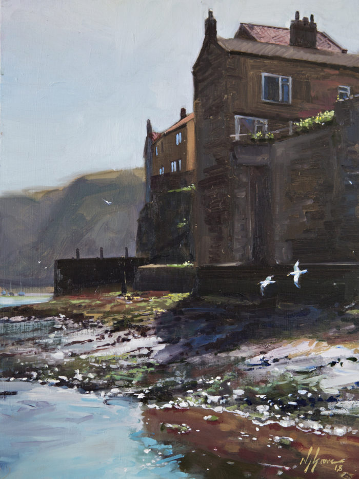 Bright Morning, Staithes