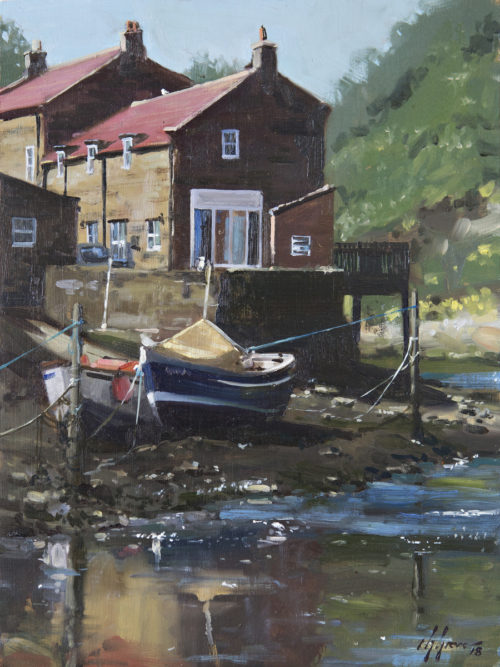 Bright Afternoon, Staithes