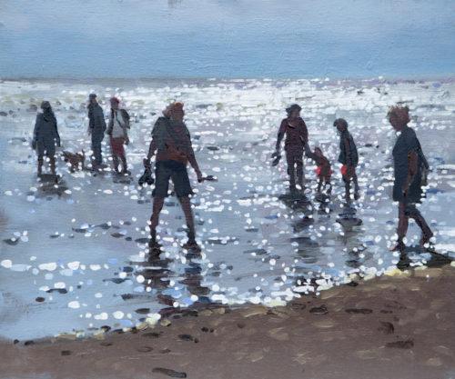 Incoming Tide, Old Hunstanton, Print