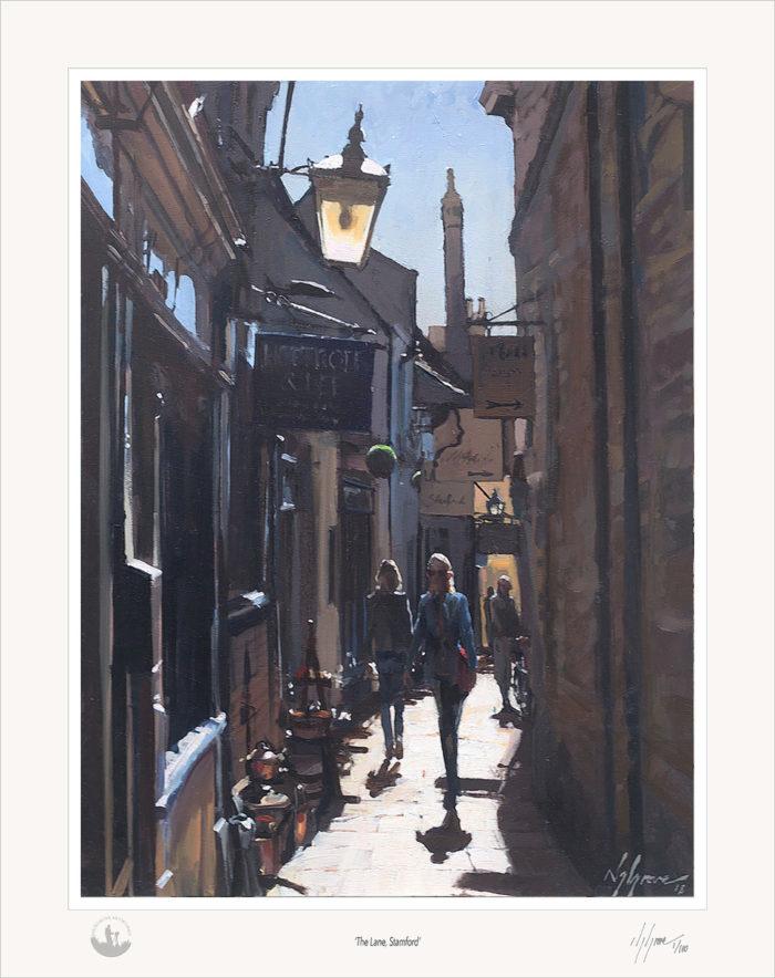 The Lane, Stamford, Print