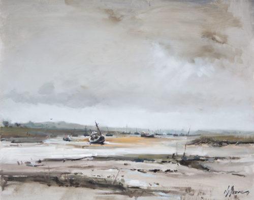Low tide, Brancaster Staithe, Norfolk