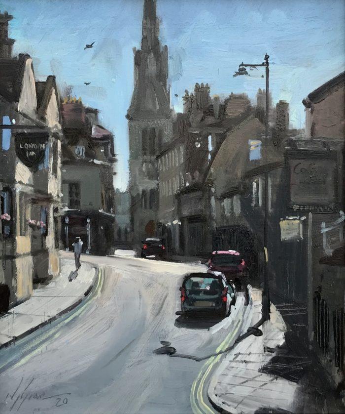 Castle St, July Morning, Stamford