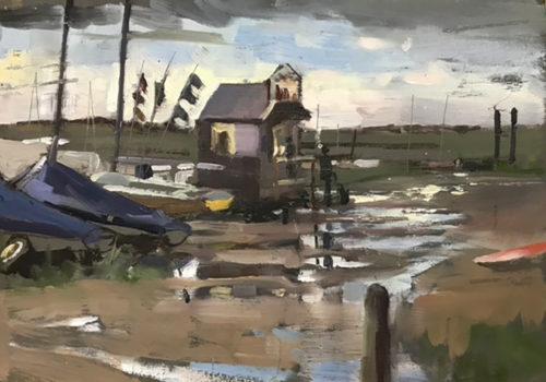 The Crab Hut, after the rain, Burnham