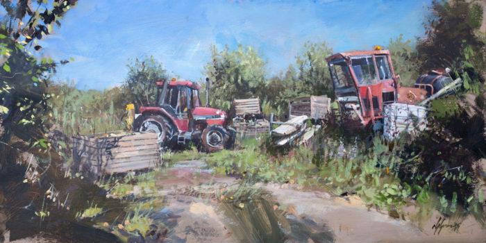 Morston Quay, Scrap & Tractors