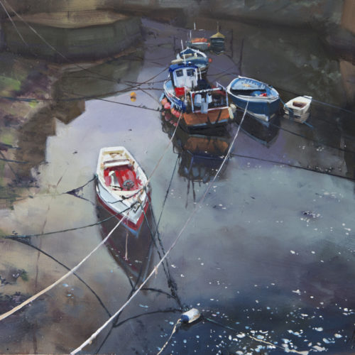 Boats and ropes, Staithes
