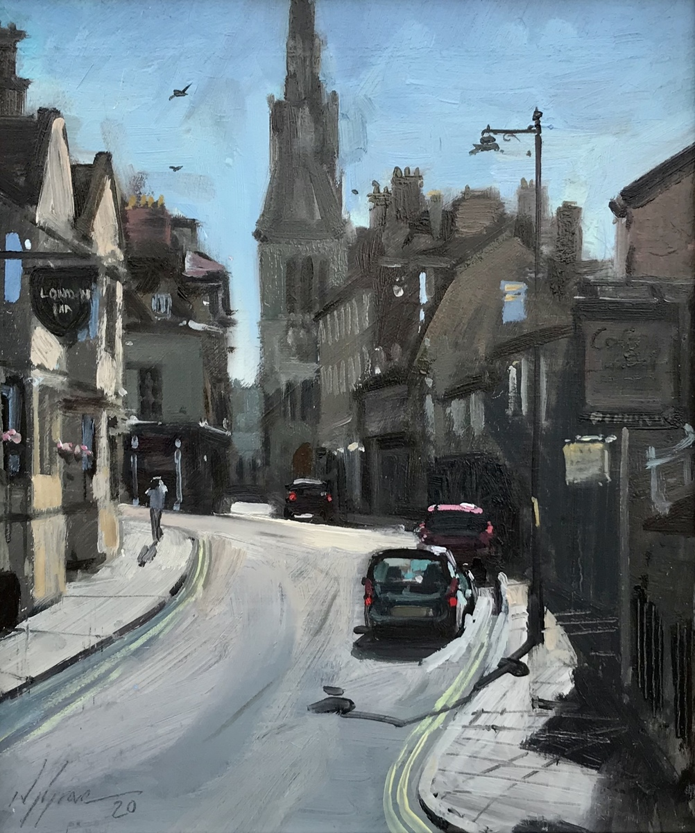 Castle St, July Morning, Stamford