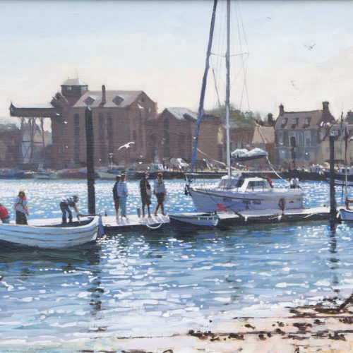 Hot Afternoon in Wells-Next-The Sea