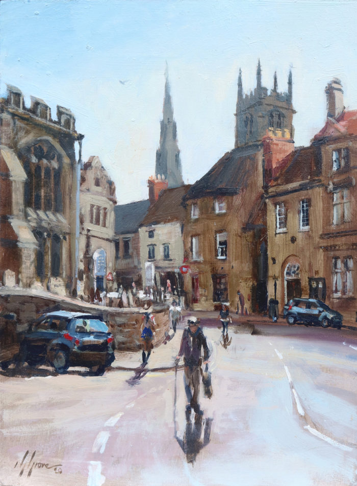 All Saints Place from Scotgate, Stamford