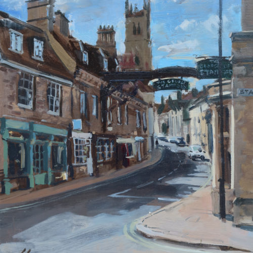 High Street St Martin's, from the Crossroads, Stamford