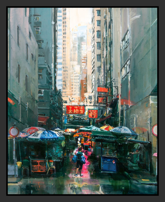Peel St, Hong Kong