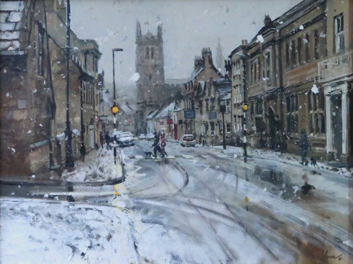 Settling Snow, St Martins, Stamford