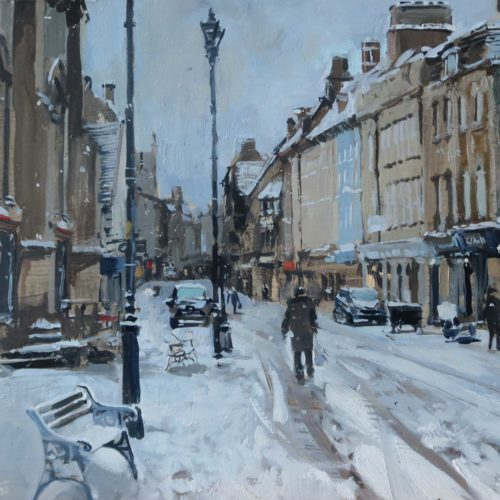 Sudden Snow, High St, Stamford Nick Grove