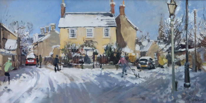 The House on Wothorpe Road, Stamford,