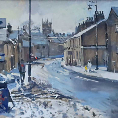 Wharf Road, Sparkles and Snow