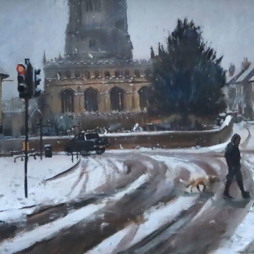 Winters Chill, Red Lion Square, Stamford