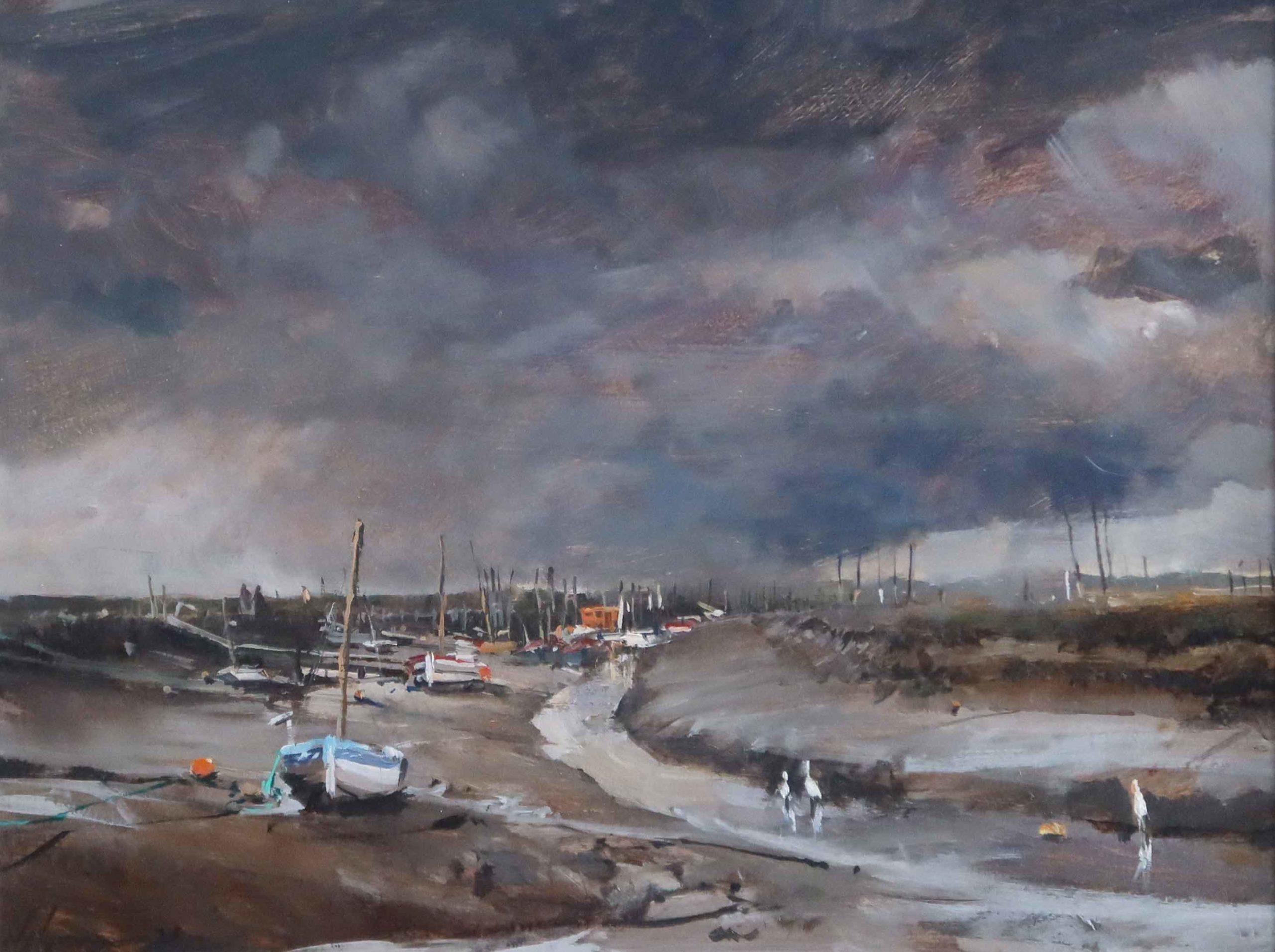 Rainclouds, Morston Quay