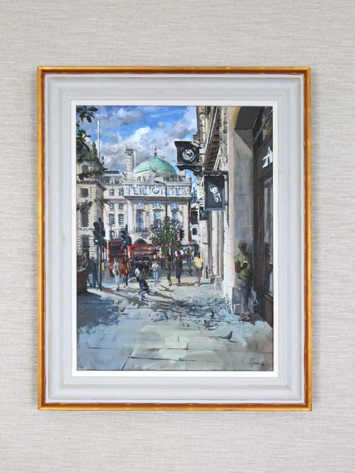 Regent Street Saint James's Painting by Nick Grove Wall Hanging