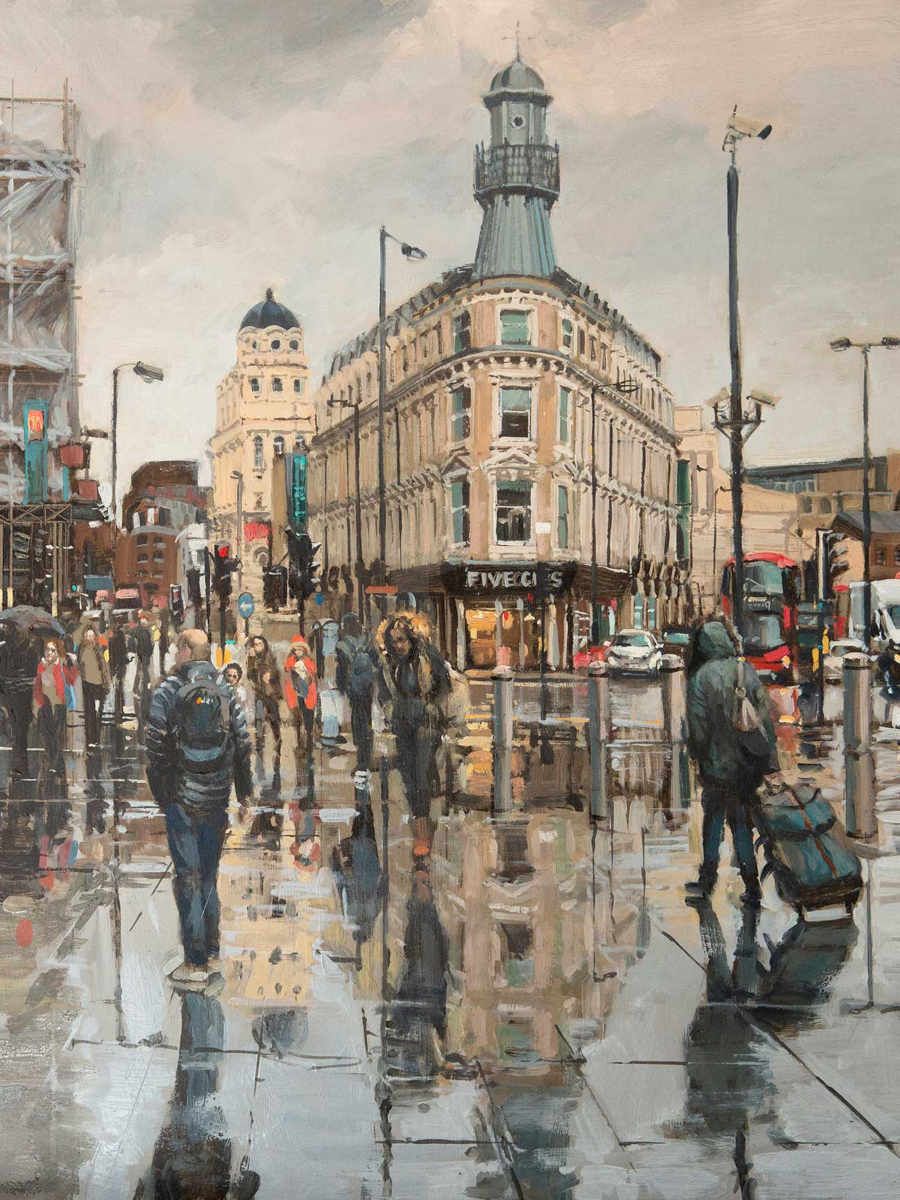 The Lighthouse Kings Cross Painting by British Artist Nick Grove